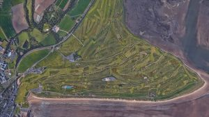 a) ROYAL TROON b) CARNOUSTIE c) THE OLD COURSE, ST. ANDREWS