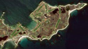 a) NATIONAL GOLF LINKS OF AMERICA b) FISHERS ISLAND c) FRIAR'S HEAD